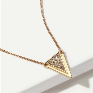 Jewelry - • London • Triangle Rhinestone Necklace